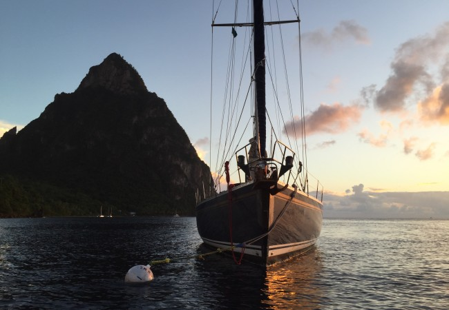 Sailing in the Grenadines